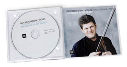 Guy Braunstein 'The Music In My Heart' CD Innen
